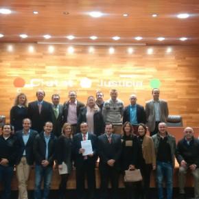 Domingo Lorenzo (C's) recoge su acreditación como diputado nacional por la provincia de Castellón