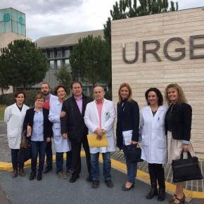 C's se reúne con representantes de CCOO del Consorcio Hospitalario de Castellón para tratar su problemática