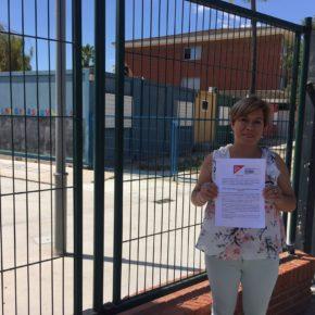 """Ventura exige a Marzà """"cumplir con su promesa y eliminar los barracones del CEIP Carlos Sarthou de Vila-real"""""""