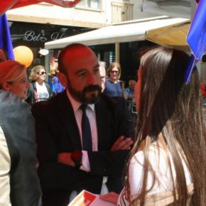 """Cañas pide el voto a Cs para """"evitar acuerdos que perjudiquen a sectores competitivos valencianos como la naranja, la tecnología o la cerámica"""""""