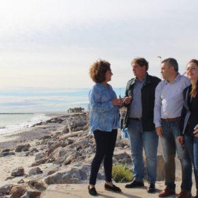 Cs defiende acabar con la regresión del litoral sur ante los reiterados incumplimientos de PP y PSOE